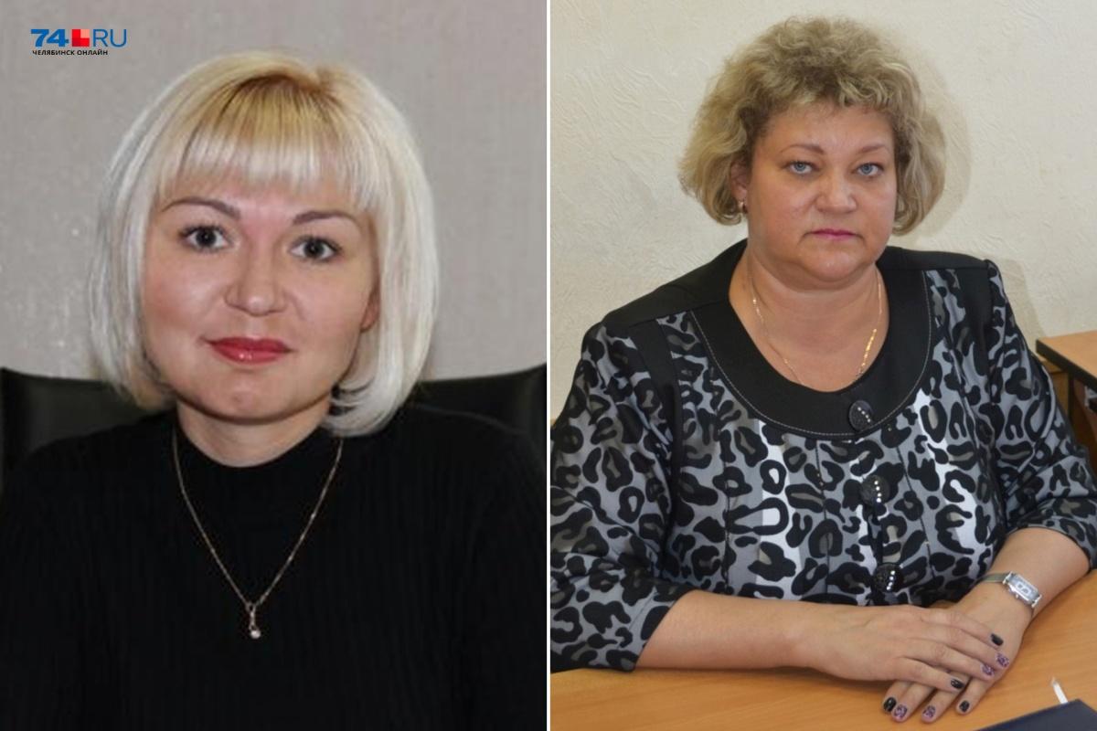 Марина Брунцова (слева) и Анна Чистякова (справа) подозреваются в присвоении чужих премий