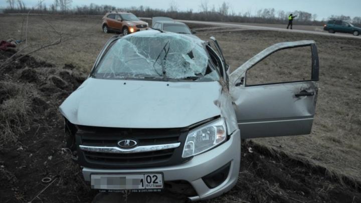Водитель, по вине которого погибли трое жителей Башкирии, ехал без прав и был пьян