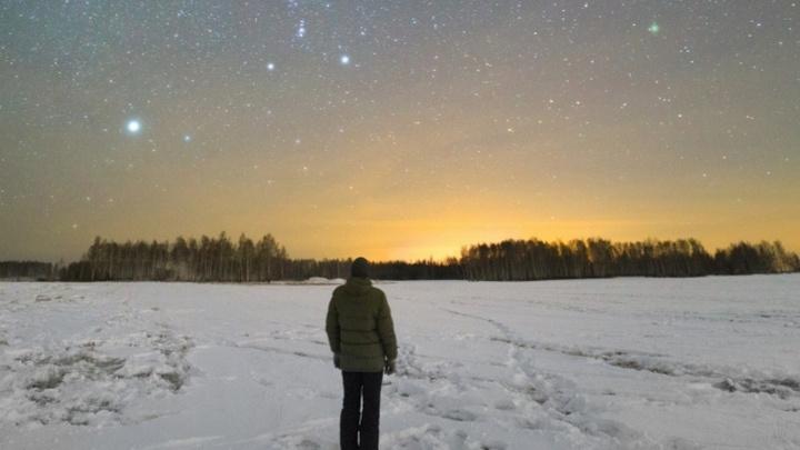 Лучшим фото декабря стал снимок нереально красивого созвездия Орион