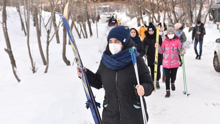 После появления китайцев в санатории у «Калининца» «Лыжню России» перенесли на Уралмаш