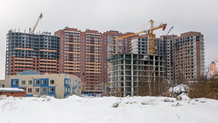 А хотели больше: новосибирские строители не смогли ввести 100 тысяч квадратов жилья