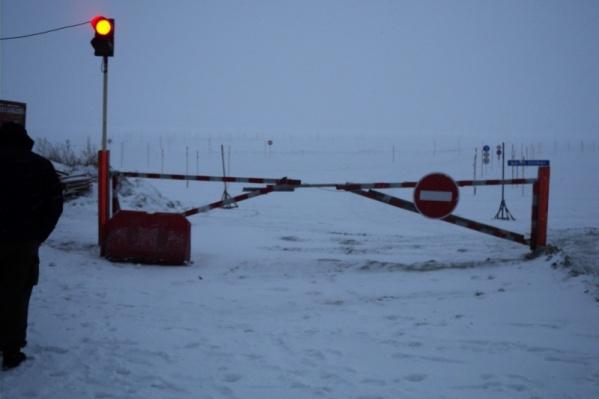Ледовые переправы перестали работать с сегодняшнего дня