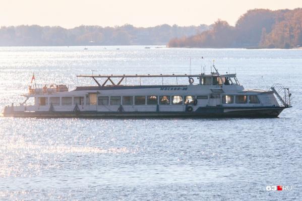 Пассажирская навигация на Волге завершится в ноябре