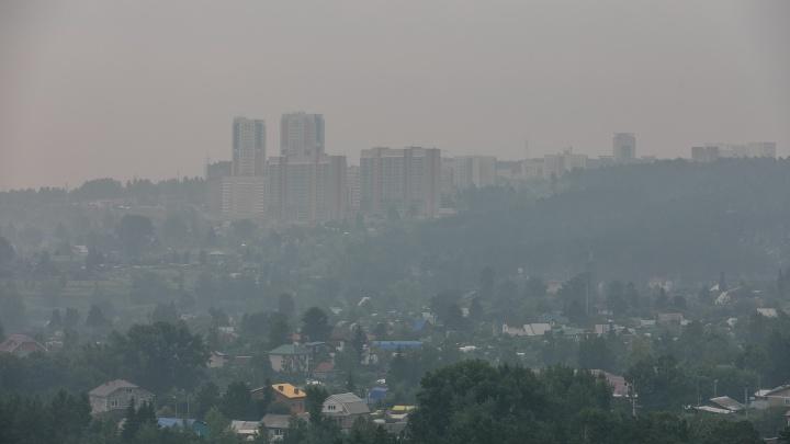 Как сейчас выглядит Красноярск, где чиновники не видят смысла вводить режим черного неба