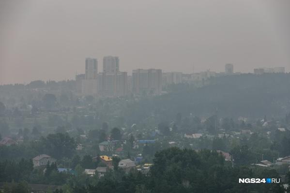 Город, утонувший в дыме от лесных пожаров. Красноярцы готовы кричать, но никто из властей их не слышит. Режим НМУ у нас не объявлен до сих пор.