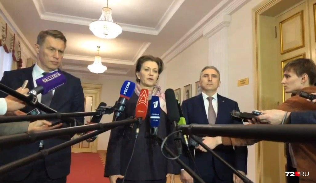 Анна Попова рассказала, что опасности для жителей Тюмени на сегодня нет