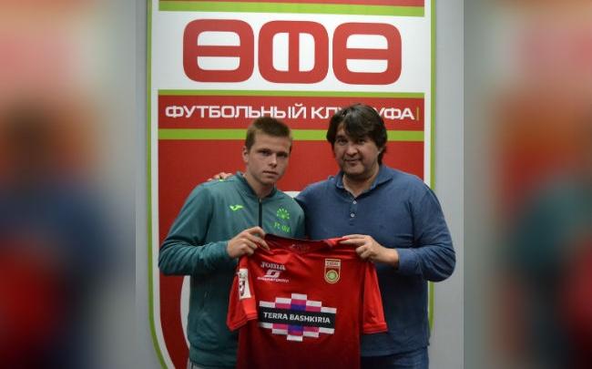 ФК «Уфа» подписал контракт с защитником «Зенита»