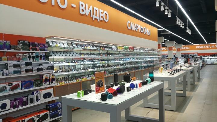 В магазине DNS «завалило» покупателя