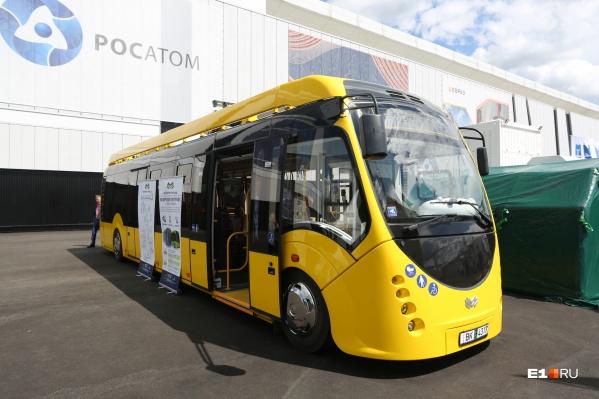 Электробус будет ездить по короткому маршруту — от улицы Щорса до железнодорожного вокзала