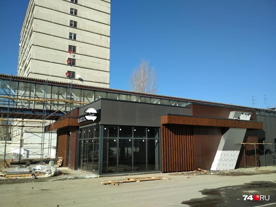 Бургерная появится в центре студенческого городка
