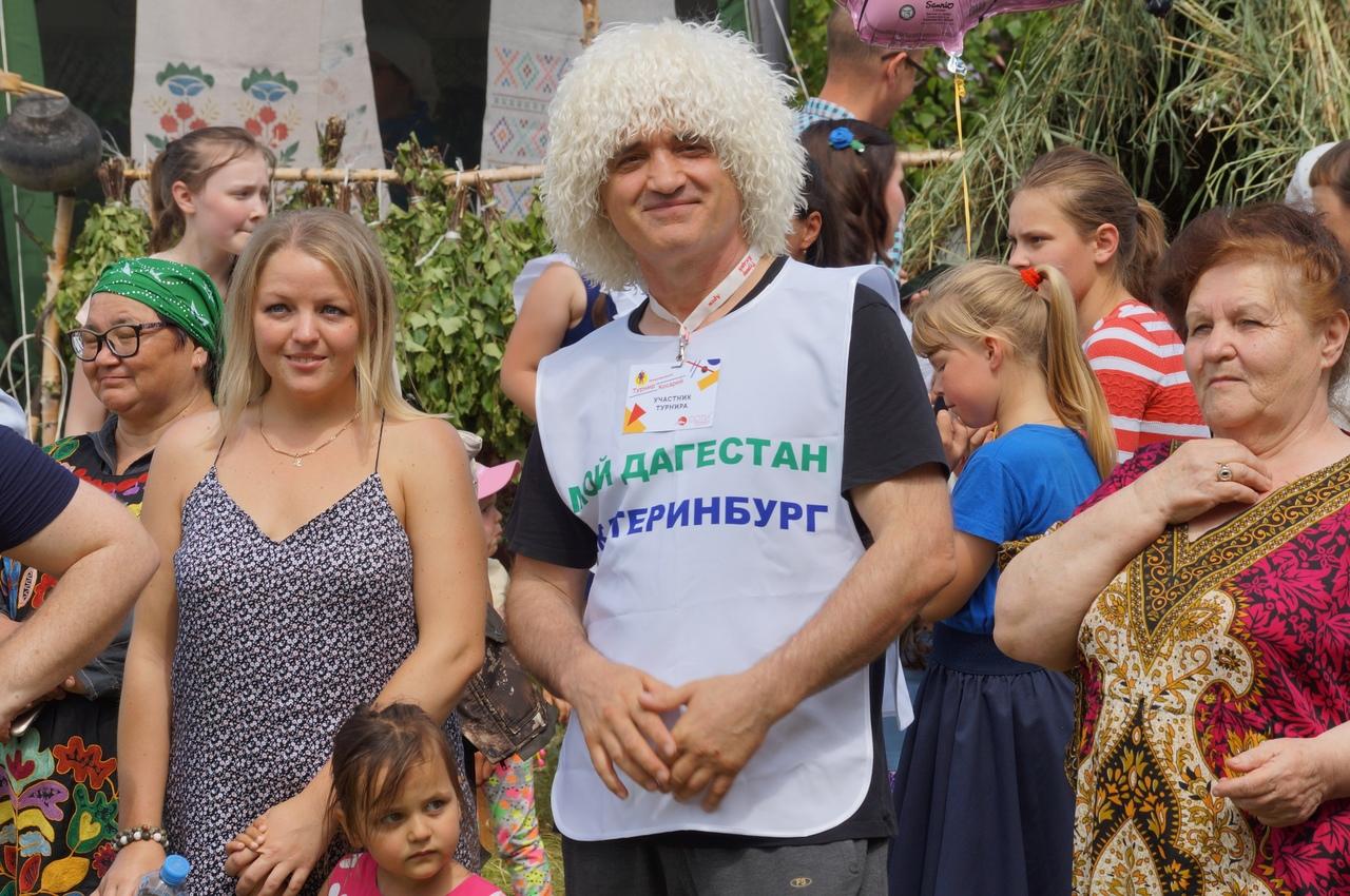И участники из разных регионов России
