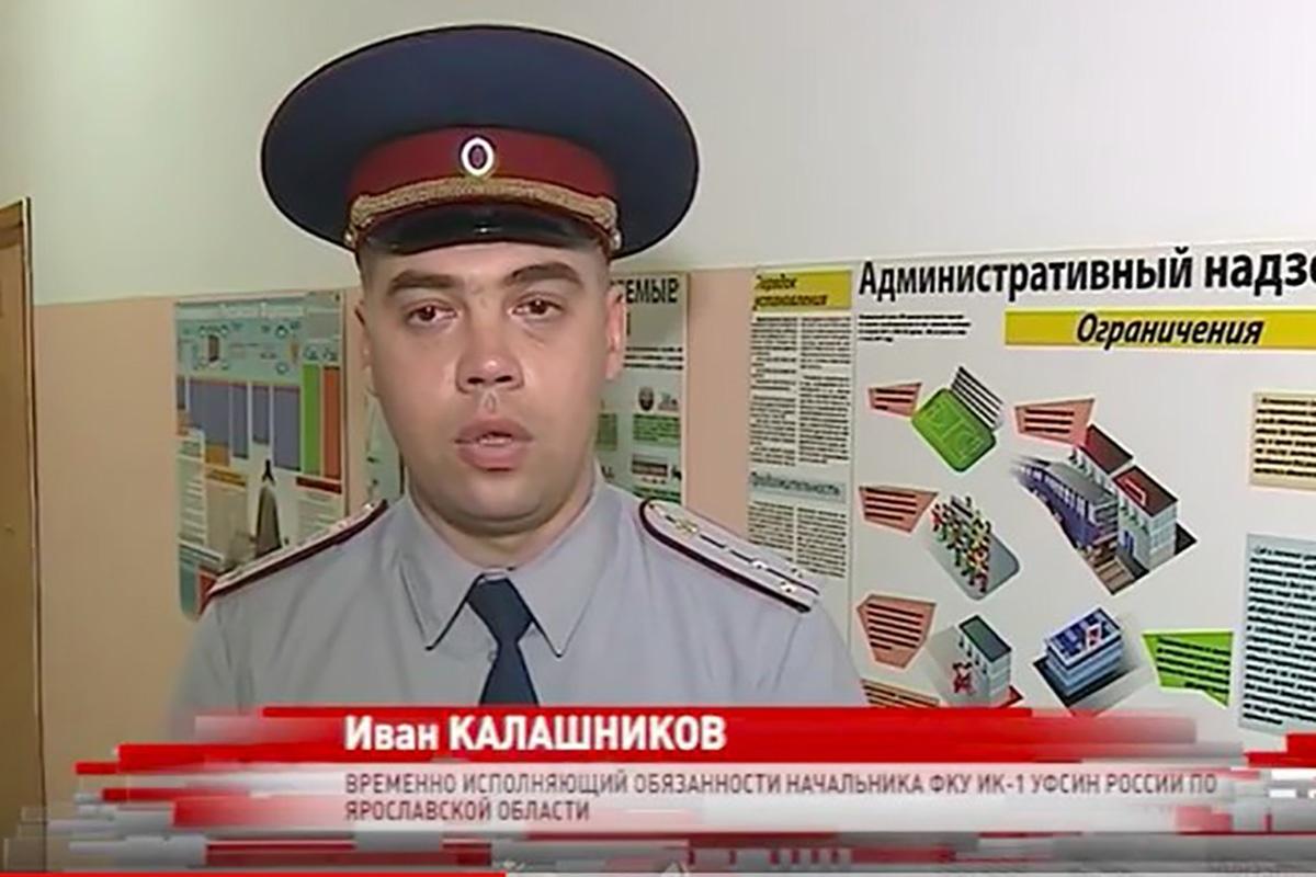 Иван Калашников на суде прятал своё лицо от фотокамер, но в СМИ он уже засветился. Правда, тогда с хорошей стороны