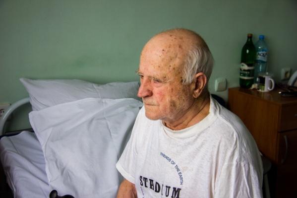 Владимир Иванович надеется выписаться из больницы на этой неделе