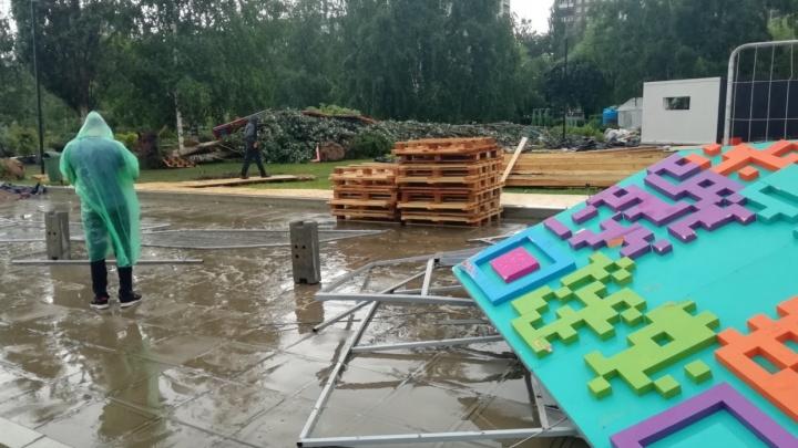 Ветер сломал 53 дерева. В Перми подсчитали ущерб от прошедшего урагана