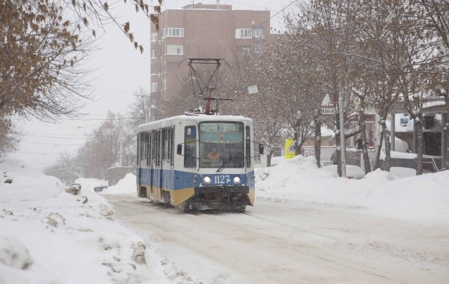 В Уфе парни избили водителя трамвая