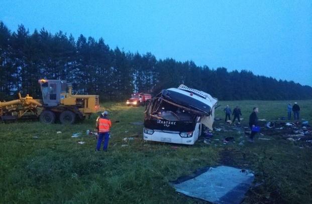 В Башкирии завершили расследованиеуголовного дела по факту ДТП с автобусом из Татарстана
