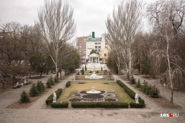 В парке Горького власти города обещали полностью заменить коммуникации