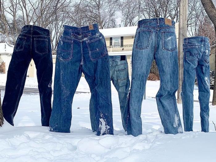 Первыми замораживать штаны начали жители США