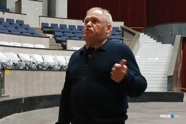 Директор новосибирского цирка Сергей Шабанов объявил о коррупции в Росгосцирке