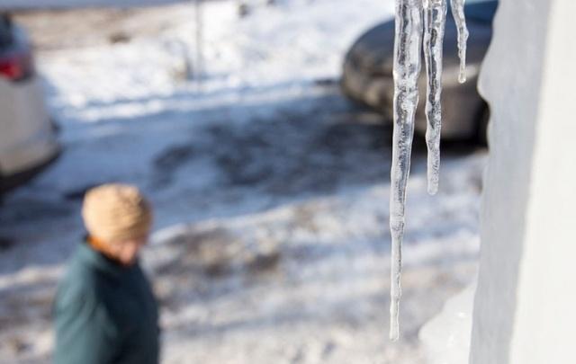 Курганскую управляющую компанию накажут за упавшую на женщину глыбу льда