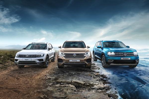 Автомобили Volkswagen — одни из самых продаваемых в своих классах