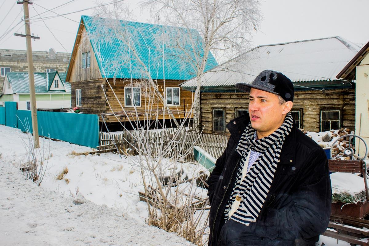 Открыл «Зарядку»42-летний новосибирский бизнесмен Евгений Федорченко