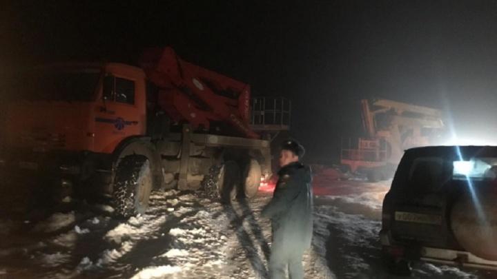 Из-за плохой погоды два района Ростовской области остались без электричества