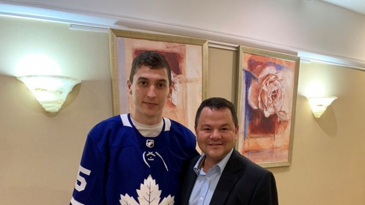 Лучший бомбардир «Авангарда» подписал контракт с клубом НХЛ