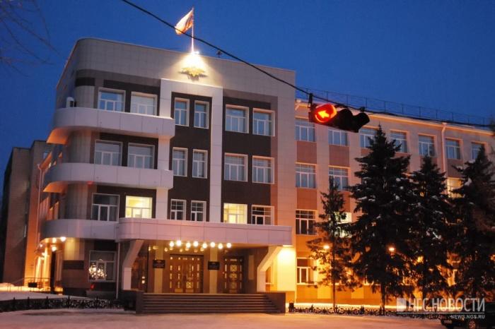 Здание ГУ МВД России по НСО на улице Октябрьская, 78