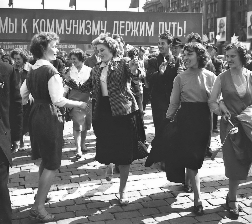 1 мая 1962 года. Фото А. Грахова (ГАСО)