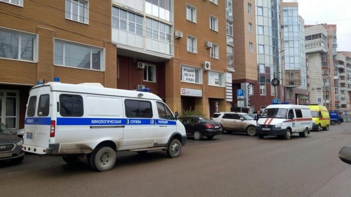 В центре Перми на улице Осинской эвакуировали сотрудников офисов