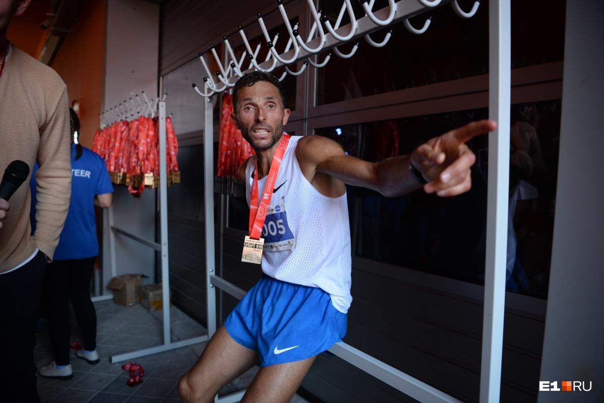 Юрий Чечун в очередной раз стал победителем марафона!