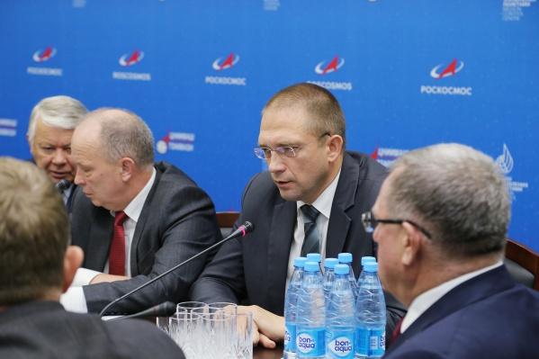 На заседании присутствовал гендиректор РКЦ «Прогресс» Дмитрий Баранов