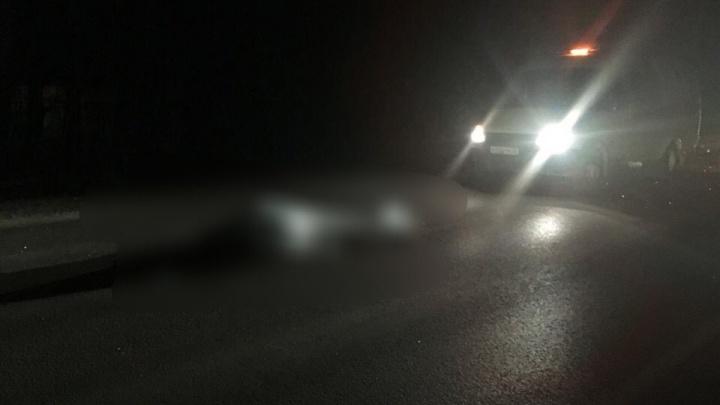 Под Тюменью водитель «семёрки» насмерть сбил 62-летнего пешехода