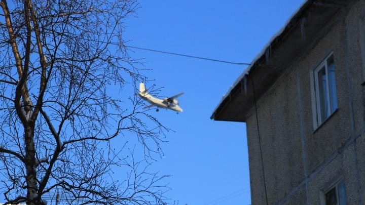 В Нарьян-Маре самолет выкатился за взлетную полосу