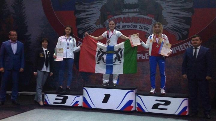 Новосибирская спортсменка выиграла Кубок России по пауэрлифтингу