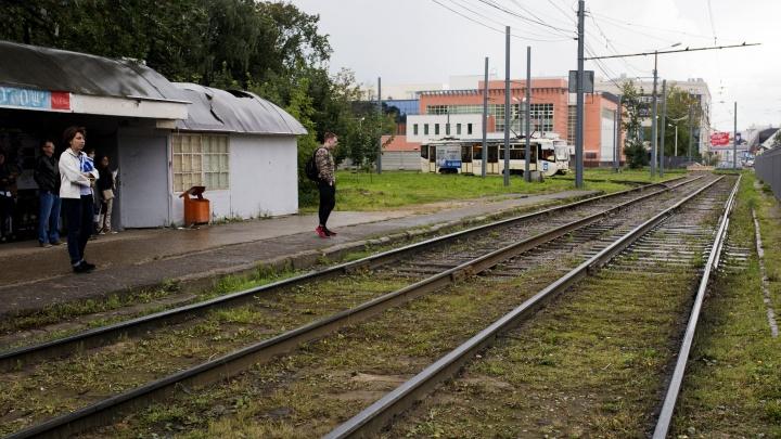 Утром в Ярославле встали почти все трамваи