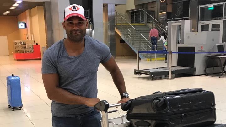В Екатеринбург прилетел лучший снайпер КХЛ и новый игрок «Автомобилиста» Найджел Доус