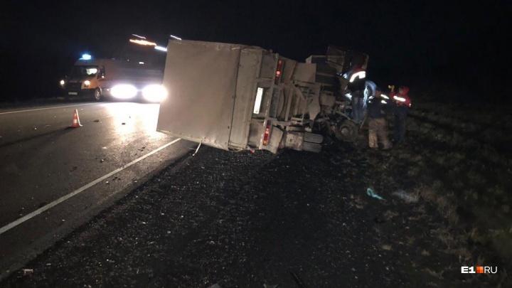 «Фура выехала на встречку»: водители ищут свидетелей массовой аварии на трассе недалеко от Ачита