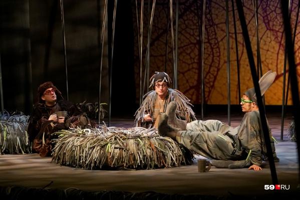 Спектакль о Ёжике и его друзьях появился на сцене пермского театра совсем недавно — в конце прошлого года