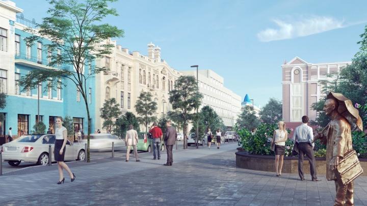 Идем по новому Мира: показываем, как будет выглядеть главный проспект города после реконструкции