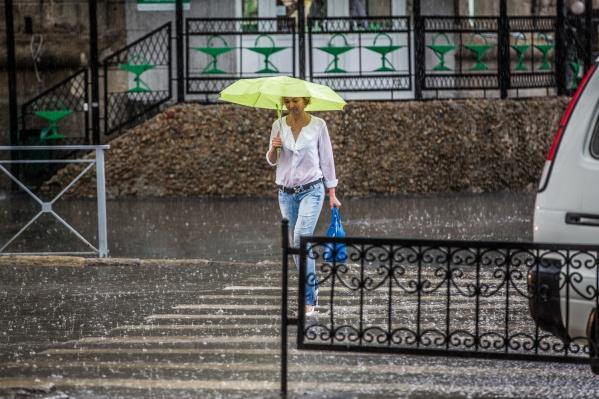 В выходные новосибирцев ждут небольшие дожди— к началу следующей недели они усилятся
