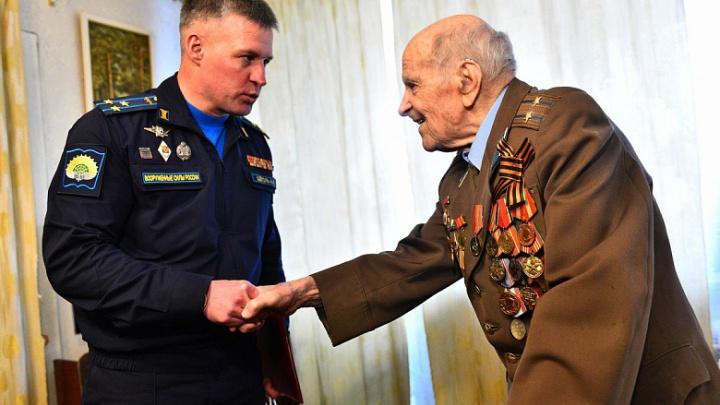 Житель Ярославля Геннадий Котов отметил 100-летний юбилей