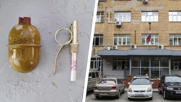 Новосибирцу с гранатой грозит 5 лет за взрыв у дома на Некрасова