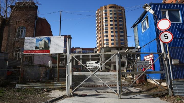 В центре Новосибирска построят ещё одну 14-этажную гостиницу