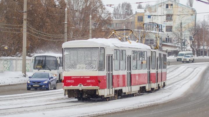 Валидаторы в трамваях № 22 установят летом