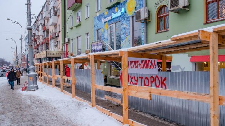 Мэрия Перми не согласовала оформление входа в новый «Хуторок» на Комсомольском проспекте