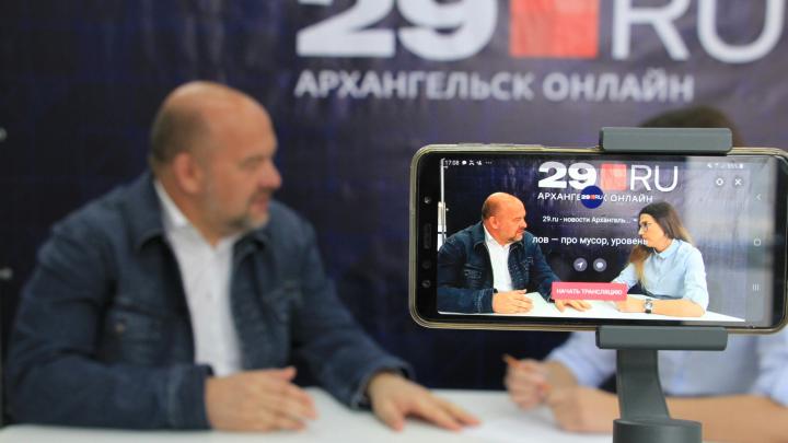 «Мы намного умнее, чем все думают»: Игорь Орлов — о мусоре и будущем своего губернаторства