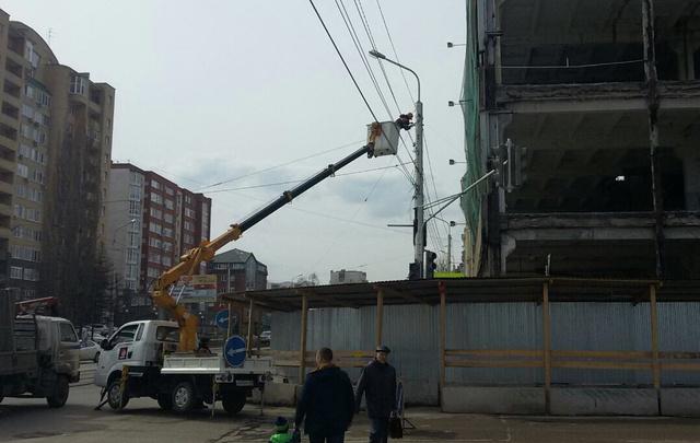 Стала известна причина возгорания светофора в центре Уфы