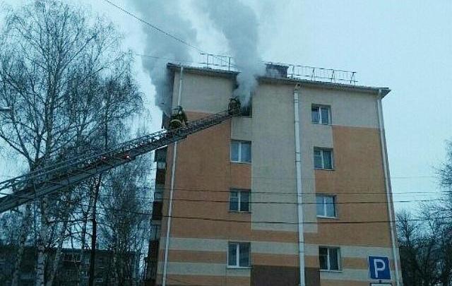 В Башкирии дотла сгорела квартира в многоэтажке